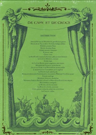 Dos de cape et de crocs - coffret tome 4 à tome 6