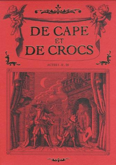 image de de cape et de crocs - coffret tome 1 à tome 3