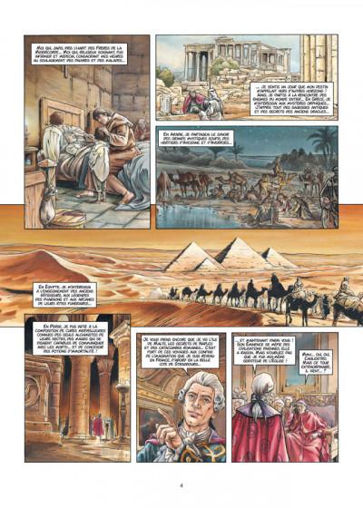 Page 2 Cagliostro tome 1