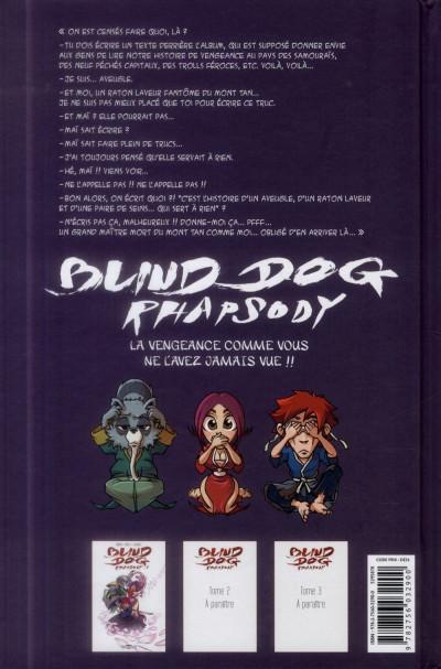 Dos Blind Dog Rhapsody Tome 1