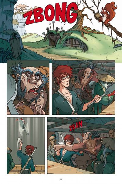 Page 4 Blind Dog Rhapsody Tome 1