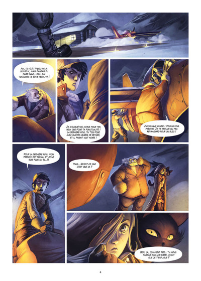 Page 2 Le Soufflevent Tome 1 - New Pearl - Alexandrie