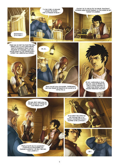 Page 3 Le Soufflevent Tome 1 - New Pearl - Alexandrie