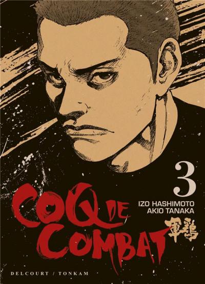 Couverture Coq de combat tome 3 - nouvelle édition