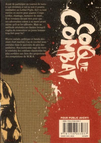 Dos Coq de combat tome 5 - nouvelle édition