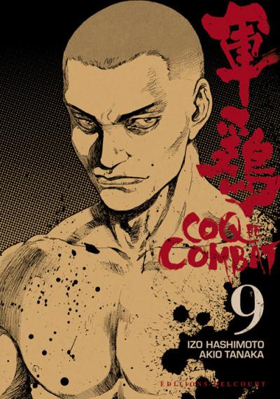 Couverture Coq de combat tome 9 - nouvelle édition