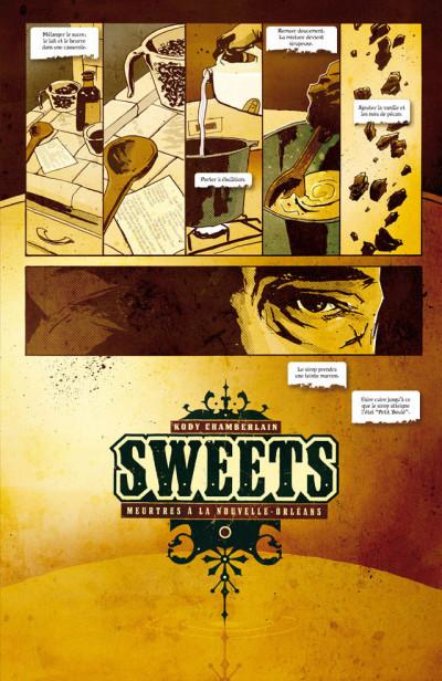 Page 1 sweets ; Meutres à la Nouvelle-Orléans