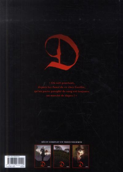 Dos D tome 3 - Monsieur Caulard