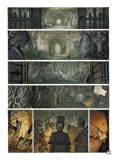 Page 1 D tome 3 - Monsieur Caulard