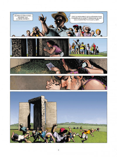 Page 3 L'histoire secrète tome 32 - apocalypto