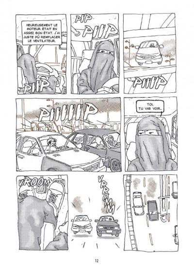 Page 2 la voiture d'Intisar ; portrait d'une femme moderne au Yémen