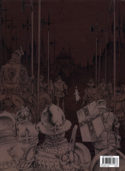 Dos le trône d'argile tome 5 - la pucelle - édition de luxe N&B