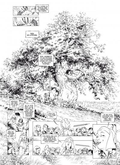 Page 1 le trône d'argile tome 5 - la pucelle - édition de luxe N&B