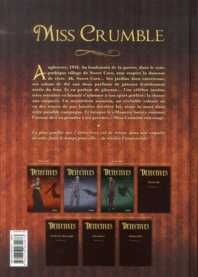 Dos Détectives tome 1 - Miss Crumble - Le Monstre botté