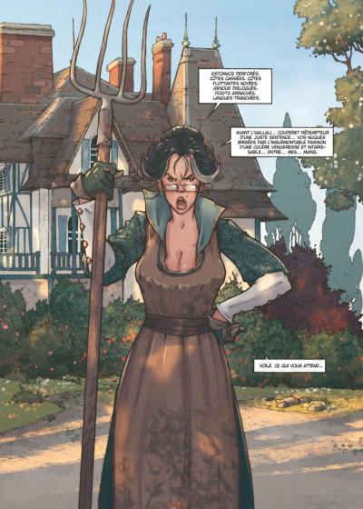 Page 1 Détectives tome 1 - Miss Crumble - Le Monstre botté