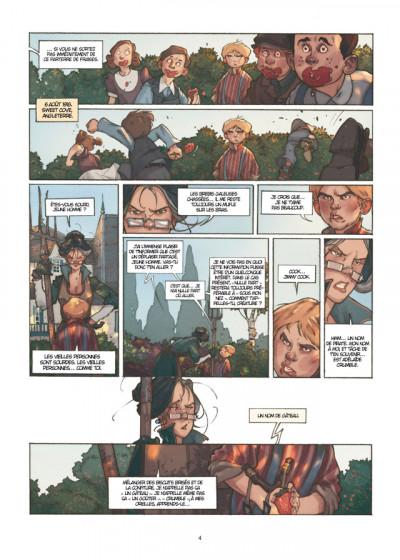 Page 2 Détectives tome 1 - Miss Crumble - Le Monstre botté