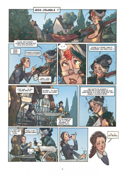 Page 4 Détectives tome 1 - Miss Crumble - Le Monstre botté