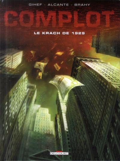image de Complot tome 1 - Le krach de 1929