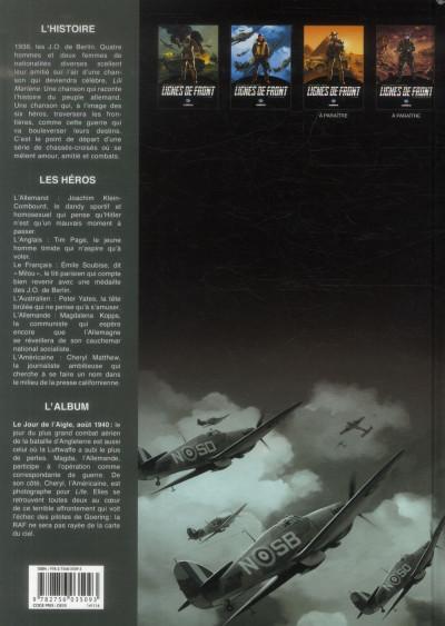 Dos Lignes de Front tome 2 - Le Vol de l'aigle