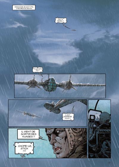 Page 1 Lignes de Front tome 2 - Le Vol de l'aigle