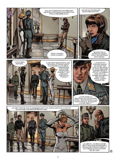 Page 3 Lignes de Front tome 4 - Les Diables verts