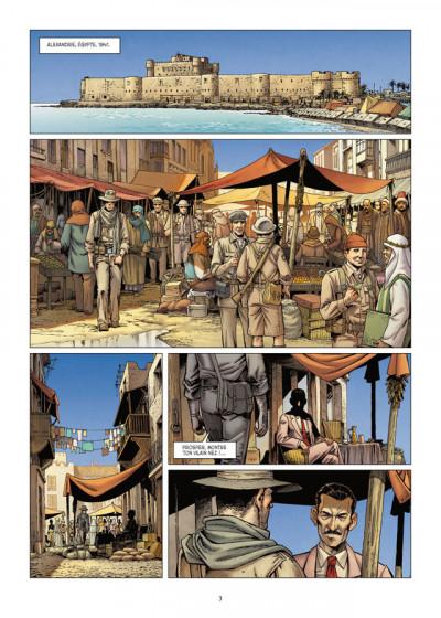 Page 1 Lignes de Front tome 3 - LRDG