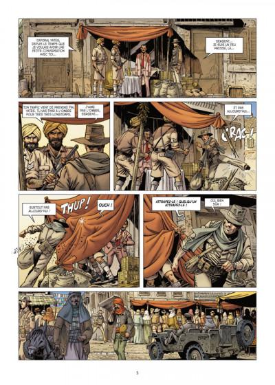 Page 3 Lignes de Front tome 3 - LRDG