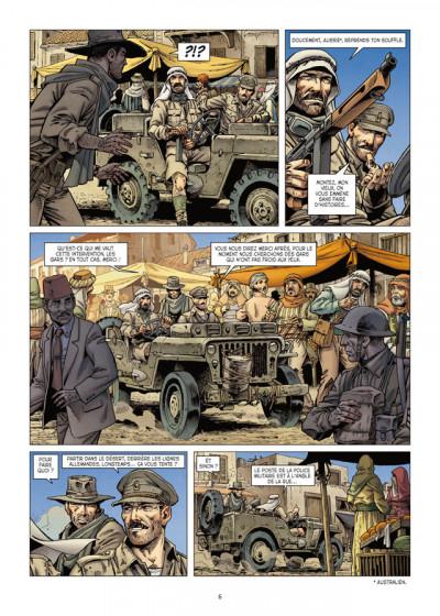 Page 4 Lignes de Front tome 3 - LRDG
