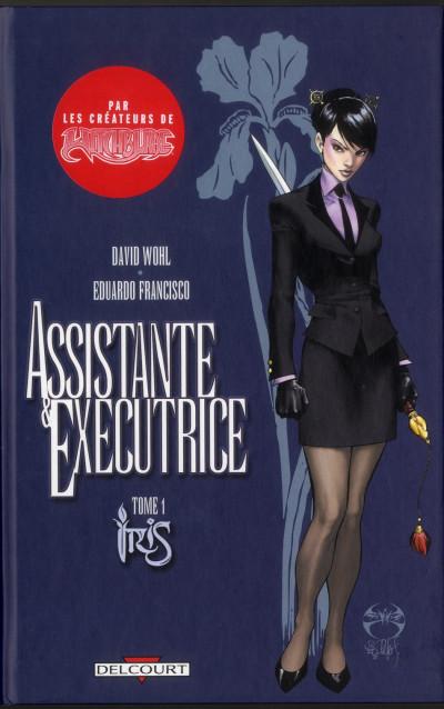 image de assistante & exécutrice tome 1 - Iris