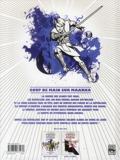 Dos star wars - the clone wars tome 1 - coup de main sur Maarka