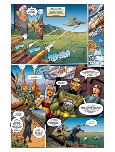 Page 1 star wars - the clone wars tome 1 - coup de main sur Maarka
