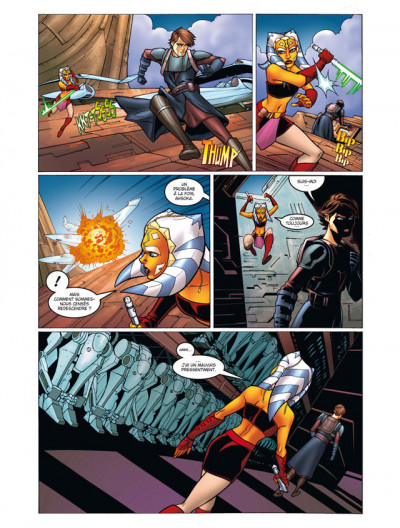 Page 3 star wars - the clone wars tome 1 - coup de main sur Maarka