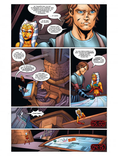 Page 4 star wars - the clone wars tome 1 - coup de main sur Maarka