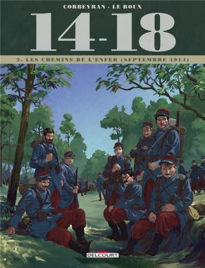 image de 14-18 tome 2 - Les Chemins de l'enfer (septembre 1914)