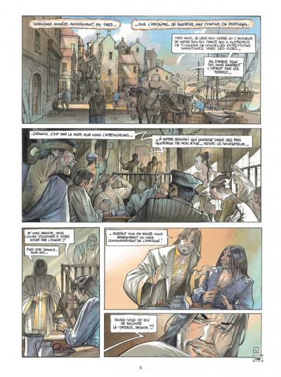 Page 4 L'Homme de l'année Tome 6 - 1492 - L'homme grâce à qui on découvrit les Amériques