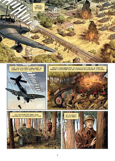 Page 1 Champs d'honneur tome 5 - Dunkerque - Juin 1940