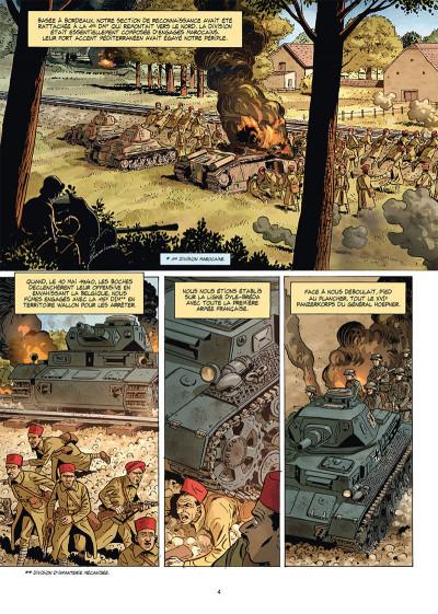 Page 2 Champs d'honneur tome 5 - Dunkerque - Juin 1940