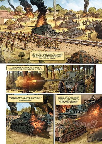 Page 3 Champs d'honneur tome 5 - Dunkerque - Juin 1940