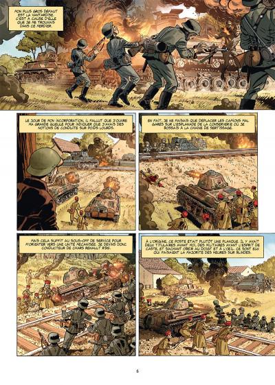 Page 4 Champs d'honneur tome 5 - Dunkerque - Juin 1940