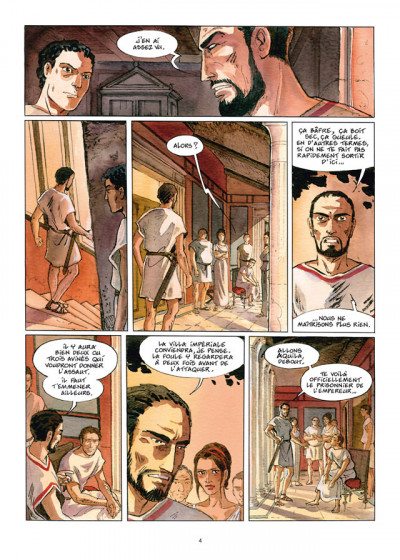 Page 2 Les Ombres du Styx tome 3 - In memoriam