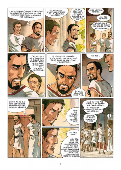 Page 3 Les Ombres du Styx tome 3 - In memoriam