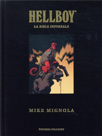 Couverture Hellboy - la bible infernale