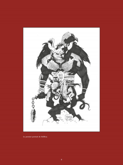 Page 9 Hellboy - la bible infernale