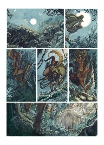 Page 1 La Légende de Noor tome 1