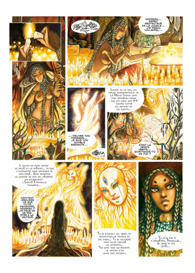 Page 2 La Légende de Noor tome 1