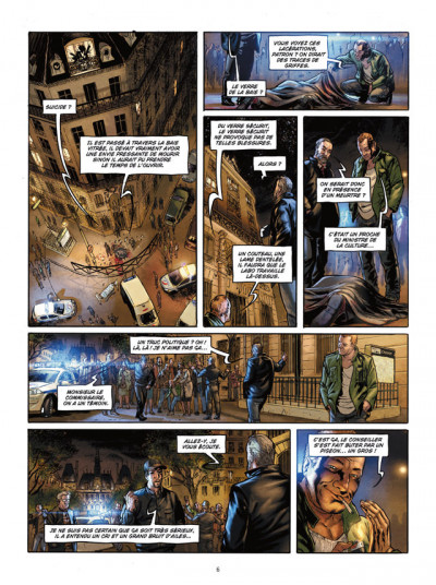 Page 4 Paris maléfices tome 1 - la malédiction de la tour Saint-Jacques