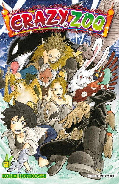 Couverture crazy zoo tome 2
