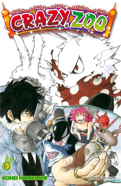 Couverture Crazy Zoo tome 3