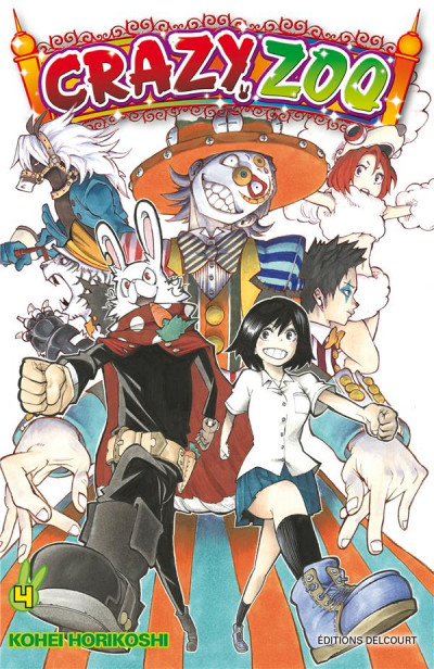 Couverture Crazy Zoo tome 4