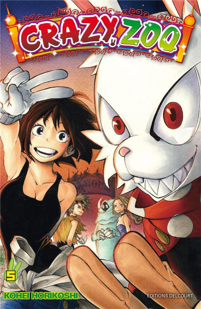 Couverture Crazy Zoo tome 5